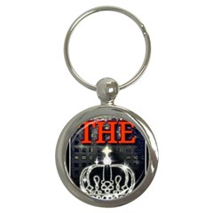 The King Key Chains (round)  by SugaPlumsEmporium