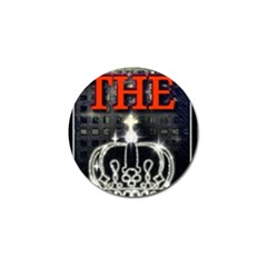 The King Golf Ball Marker by SugaPlumsEmporium