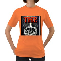The King Women s Dark T Shirt by SugaPlumsEmporium