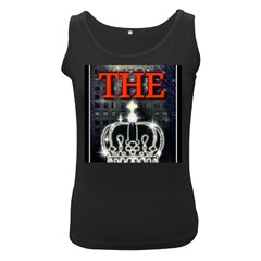 The King Women s Black Tank Top by SugaPlumsEmporium