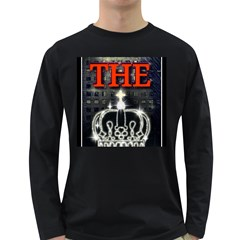 The King Long Sleeve Dark T Shirts by SugaPlumsEmporium