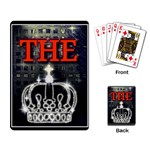 The King Playing Card Back