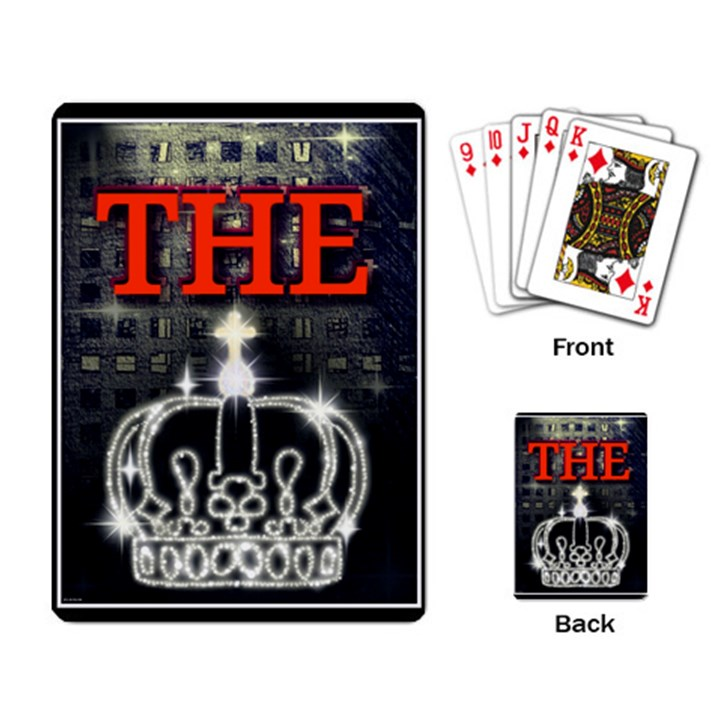 The King Playing Card
