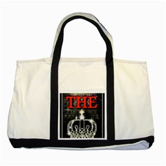 The King Two Tone Tote Bag by SugaPlumsEmporium