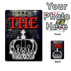 The King Multi Purpose Cards (rectangle)  by SugaPlumsEmporium