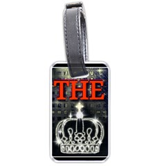 The King Luggage Tags (two Sides) by SugaPlumsEmporium