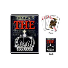 The King Playing Cards (mini)  by SugaPlumsEmporium