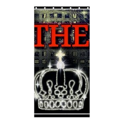 The King Shower Curtain 36  X 72  (stall)  by SugaPlumsEmporium
