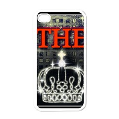 The King Apple Iphone 4 Case (white) by SugaPlumsEmporium