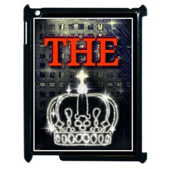 The King Apple Ipad 2 Case (black) by SugaPlumsEmporium