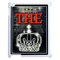 The King Apple Ipad 2 Case (white) by SugaPlumsEmporium