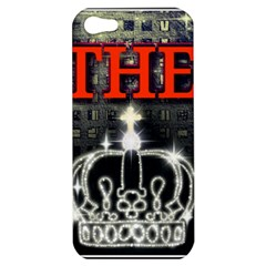 The King Apple Iphone 5 Hardshell Case by SugaPlumsEmporium
