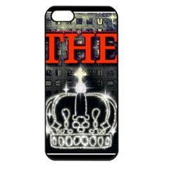 The King Apple Iphone 5 Seamless Case (black) by SugaPlumsEmporium