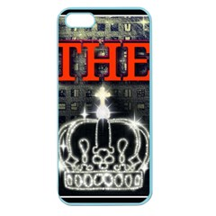 The King Apple Seamless Iphone 5 Case (color) by SugaPlumsEmporium