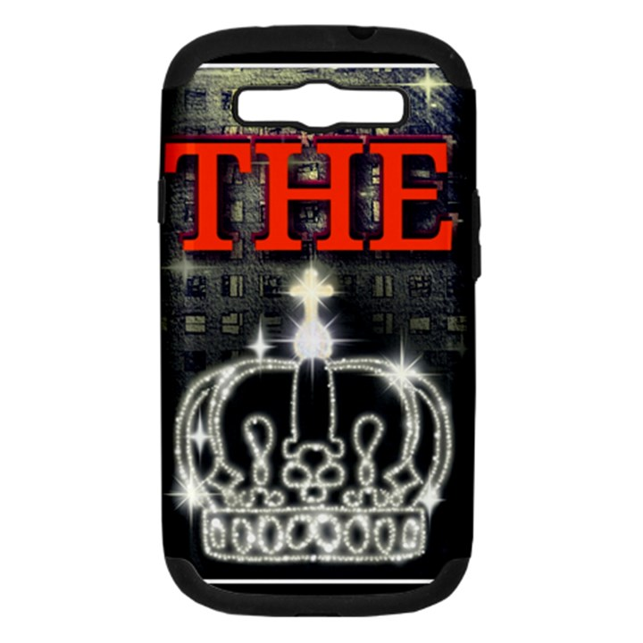The King Samsung Galaxy S III Hardshell Case (PC+Silicone)