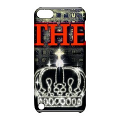 The King Apple Ipod Touch 5 Hardshell Case With Stand by SugaPlumsEmporium