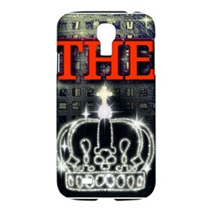 The King Samsung Galaxy S4 I9500/i9505 Hardshell Case by SugaPlumsEmporium