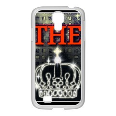 The King Samsung Galaxy S4 I9500/ I9505 Case (white) by SugaPlumsEmporium