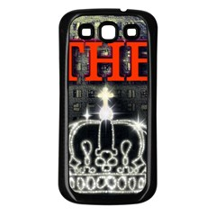 The King Samsung Galaxy S3 Back Case (black) by SugaPlumsEmporium