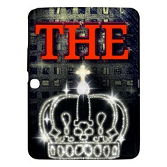 The King Samsung Galaxy Tab 3 (10 1 ) P5200 Hardshell Case  by SugaPlumsEmporium