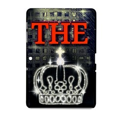 The King Samsung Galaxy Tab 2 (10 1 ) P5100 Hardshell Case  by SugaPlumsEmporium