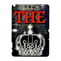 The King Samsung Galaxy Note 10 1 (p600) Hardshell Case by SugaPlumsEmporium