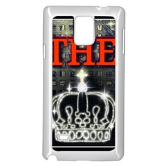 The King Samsung Galaxy Note 4 Case (white) by SugaPlumsEmporium