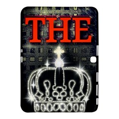 The King Samsung Galaxy Tab 4 (10 1 ) Hardshell Case  by SugaPlumsEmporium