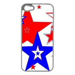 The Patriot 2 Apple Iphone 5 Case (silver) by SugaPlumsEmporium