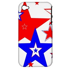 The Patriot 2 Apple Iphone 4/4s Hardshell Case (pc+silicone) by SugaPlumsEmporium