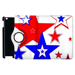 The Patriot 2 Apple Ipad 3/4 Flip 360 Case by SugaPlumsEmporium