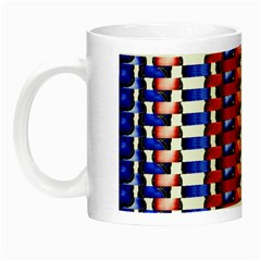 The Patriotic Flag Night Luminous Mugs by SugaPlumsEmporium