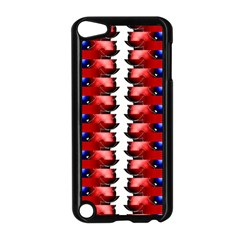 The Patriotic Flag Apple Ipod Touch 5 Case (black) by SugaPlumsEmporium