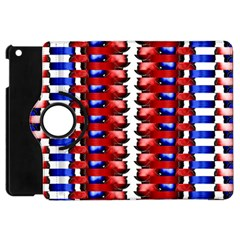The Patriotic Flag Apple Ipad Mini Flip 360 Case by SugaPlumsEmporium