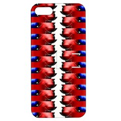 The Patriotic Flag Apple Iphone 5 Hardshell Case With Stand by SugaPlumsEmporium