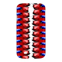The Patriotic Flag Samsung Galaxy S4 I9500/i9505 Hardshell Case by SugaPlumsEmporium