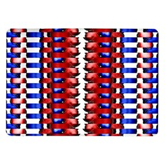 The Patriotic Flag Samsung Galaxy Tab 10 1  P7500 Flip Case by SugaPlumsEmporium