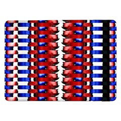 The Patriotic Flag Samsung Galaxy Tab Pro 12 2  Flip Case by SugaPlumsEmporium