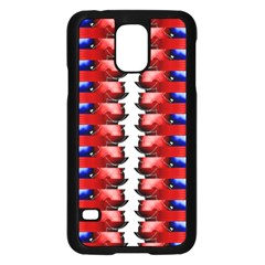 The Patriotic Flag Samsung Galaxy S5 Case (black) by SugaPlumsEmporium
