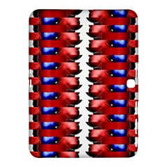 The Patriotic Flag Samsung Galaxy Tab 4 (10 1 ) Hardshell Case  by SugaPlumsEmporium