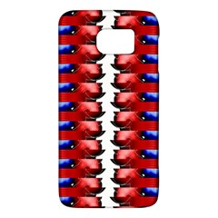 The Patriotic Flag Galaxy S6 by SugaPlumsEmporium