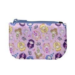 Cutie Moons Pattern Coin Change Purse by Ellador