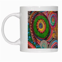 Rainbow Passion White Mugs by SugaPlumsEmporium