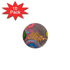 Rainbow Passion 1  Mini Magnet (10 Pack)  by SugaPlumsEmporium