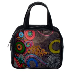 Rainbow Passion Classic Handbags (one Side) by SugaPlumsEmporium