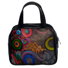 Rainbow Passion Classic Handbags (2 Sides) by SugaPlumsEmporium