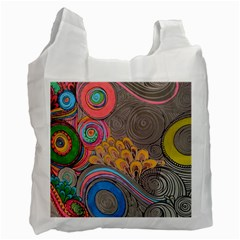 Rainbow Passion Recycle Bag (two Side)  by SugaPlumsEmporium