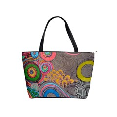 Rainbow Passion Shoulder Handbags by SugaPlumsEmporium