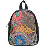 Rainbow Passion School Bags (Small)  Front