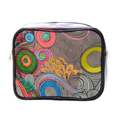 Rainbow Passion Mini Toiletries Bags by SugaPlumsEmporium